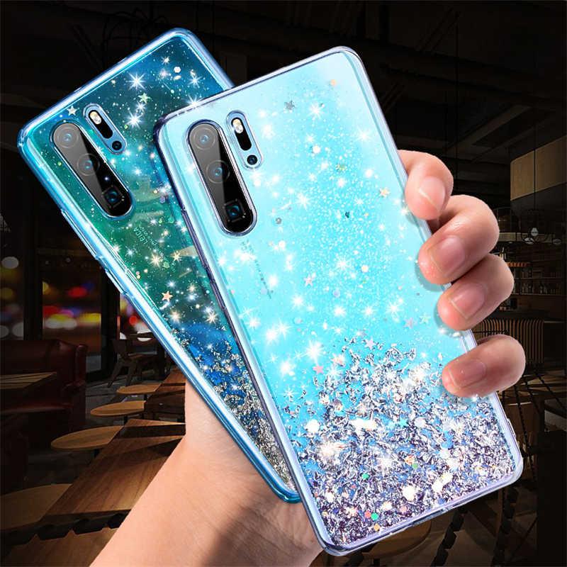 Серебряный Фольга Звезда Телефон чехол для Huawei P10 Plus P20 Lite P30 Pro Nova 2 s 3e 3i 3 4 4e Honor 10 V10 V20 20i мягкий чехол для телефона