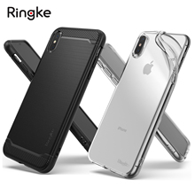 100% Original Rearth Ringke Onyx / Ringke Air Flexible Durable Soft TPU Cases for iPhone XS Max / XS / XR