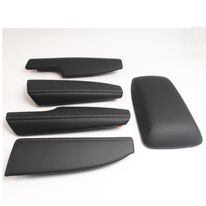 Image 2 - Auto leather Centeral Arm Rest Cover door armrest cover for toyota corolla 2014 2017 car styling