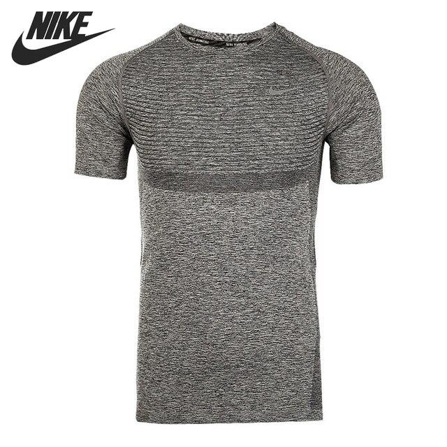 28cf3ba6a70d9 Original NIKE DRI-FIT KNIT SS Men's Running T-shirts short sleeve Sportswear