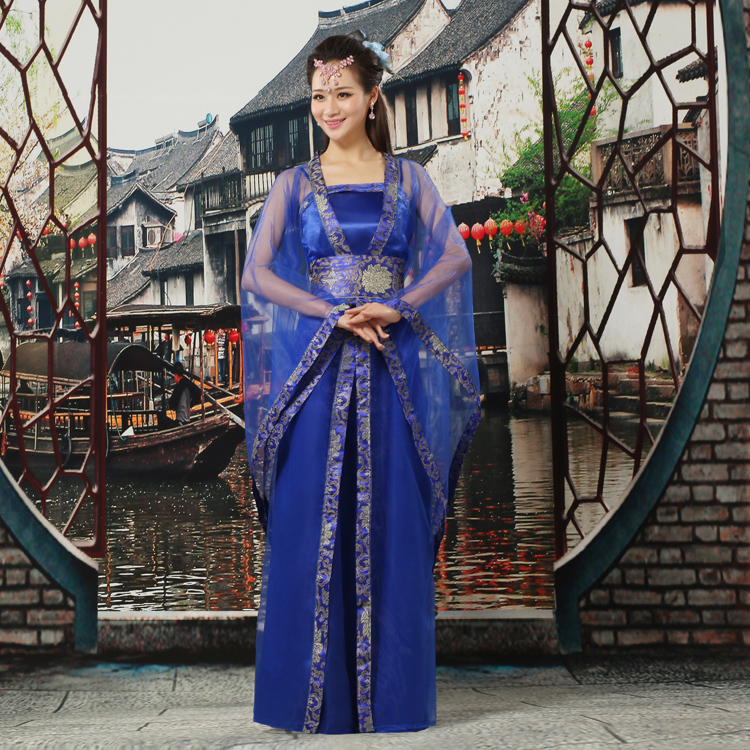 classical christmas traditional chinese dance costumes fan women national for girls ancient dress hanfu woman kids dresses