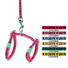 Snappy Zebra Print Harness for your Cat   Cat Harness
