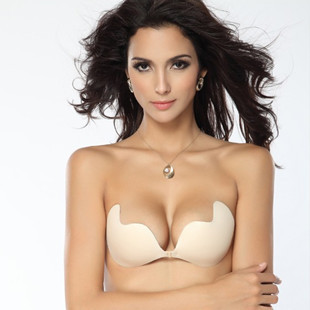 0f7e263c88 High Quality Push Up LIFT Self-Adhesive Silicone Closure Cotton Backless  Strapless Invisible Bra Wholesale seamless bra ABCD cup