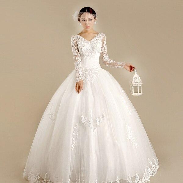 Winter Wedding Gowns 2015: Aliexpress.com : Buy Winter Wedding Dress 2015 Bride
