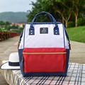 Высокое качество Anello подростковая школа рюкзак холст печати кольцо пакет сумки женские бренд молодых рюкзак компьютер пакет