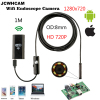 8mm Len Wifi Android Ios Endoscope Camera 1M 2M Waterproof Snake Tube Pipe Borescope 720P For