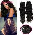Indian Hair Bundles Weave 4 bundles 7A  bob Natural Weave Human Hair Bundles aliexpress hair extensions Curly Weave Human Hair