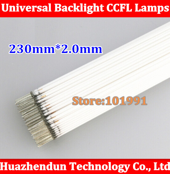 10pcs New LCD Backlight, CCFL Lamps ccfl tube 230mm *2.0mm Free Shipping LCD LAMPS 10.4inch 10.4 230*2MM 23cm