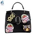 Gamystye Brand Crossbody Bags PU Fashion 3D Embroidery Snake Owl Bolsa Feminina Messenger Handbags Women Bags Designer Bolsas