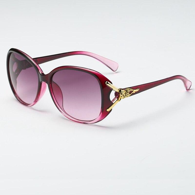 Women Luxury  Classic Eyewear Female Sunglasses Original Brand Designer Sunglasses Pierced Sun Glasses Fashion