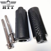 Aftermarket Free shipping motorcycle parts Extended Frame Slider For Honda 1999 2000 2001 2002 2006 CBR 600 F4 F4i Carbon fiber