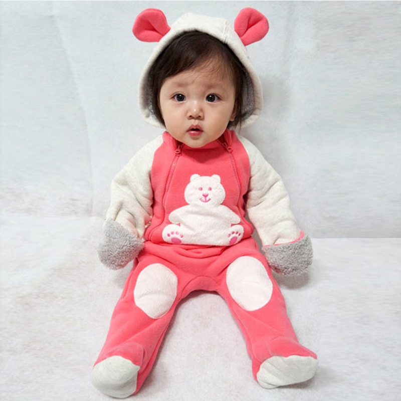 Autumn <font><b>Baby</b></font> <font><b>Rompers</b></font> <font><b>Christmas</b></font> Kids Boy <font><b>Clothes</b></font> Newborn Clothing Polar <font><b>Fleece</b></font> Toddler <font><b>Girl</b></font> <font><b>Clothes</b></font> Roupas Bebe Infant Jumpsuits image