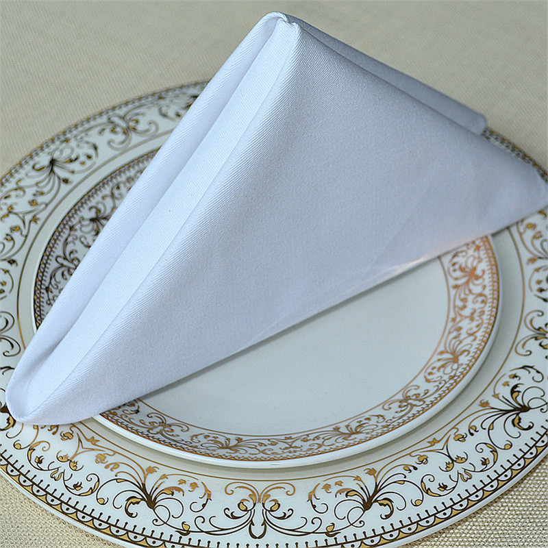 wedding napkins cotton 20 pcs a lot free shipping wedding event party hotel decoration table napkin cloth for wedding