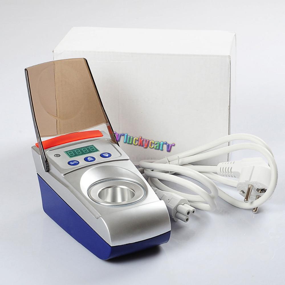 110V/220V Dental Lab Digital Wax Pot Analog Melting Dipping Heater Melter 2018 deasin dentist lab equipment dental 3 well analog wax melting dipping pot heater melter