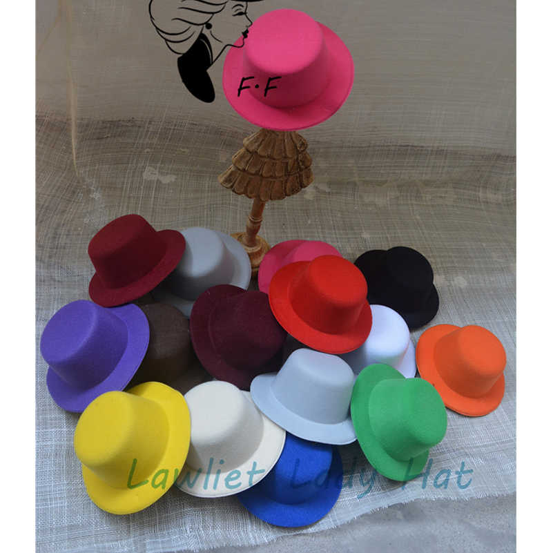 f697891b590df ... 10pcs Women Mini Top Hat Children Fascinator Hats EVA Boy Girl Wedding  Hen Party Festival Dance ...