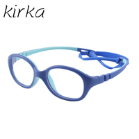 Kirka 2017 Hot Selling Children Kids Eyeglasses Frame Brand Design Kids Cute Baby Student Safe Healthy
