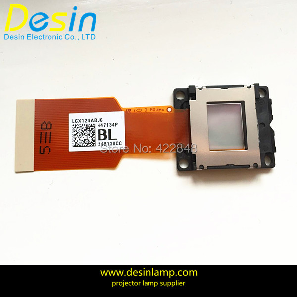 Projector origrinal LCD panel prism LCX124 new origrinal projector lcd panel lcx070 for sony cx120 cx130 cx131 cx161