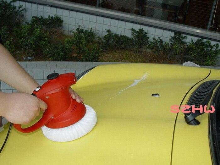 HKnoble DC12V умный спрей воск полировка воск, 3500 об/мин восковая машина, губчатый полировщик, Автомобильный Электрический полировщик