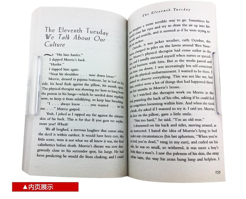 As Terças com Morrie libros Inglês Nova