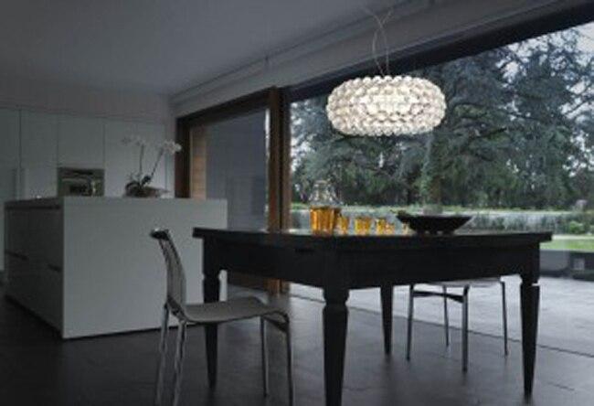 ᗛArt Bande Lustre Chambre Cuisine Maison Pendentif Éclairage ...