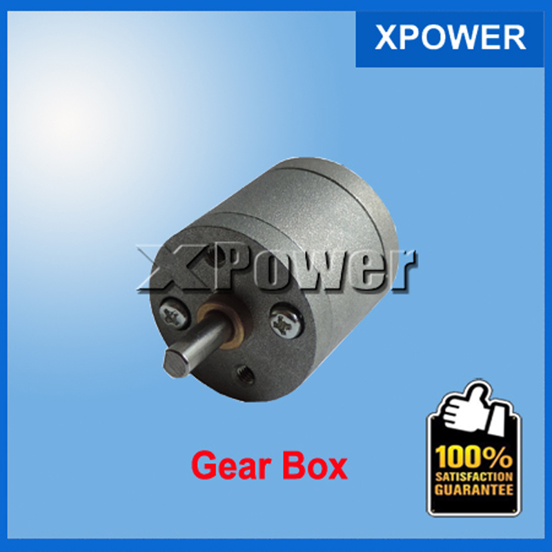 Free shipping 25GA XPower gear box motor shaft length 8mm metal gear box long use gear box for motor