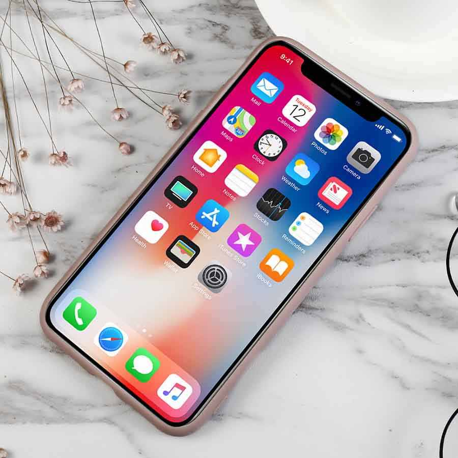 Capa de celular luxuosa de silicone, rosa, raiz de lótus, para iphone x, xr, xs, max, 5, 5S, se, 6, 6 s, 7 8 plus 11 pro max 6.5in capa coque fundas