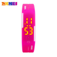 New 2015 Trendy Skmei Lady LED Digital Watch Fashion Casual Women Wristwatch Swim Dive Student Sport