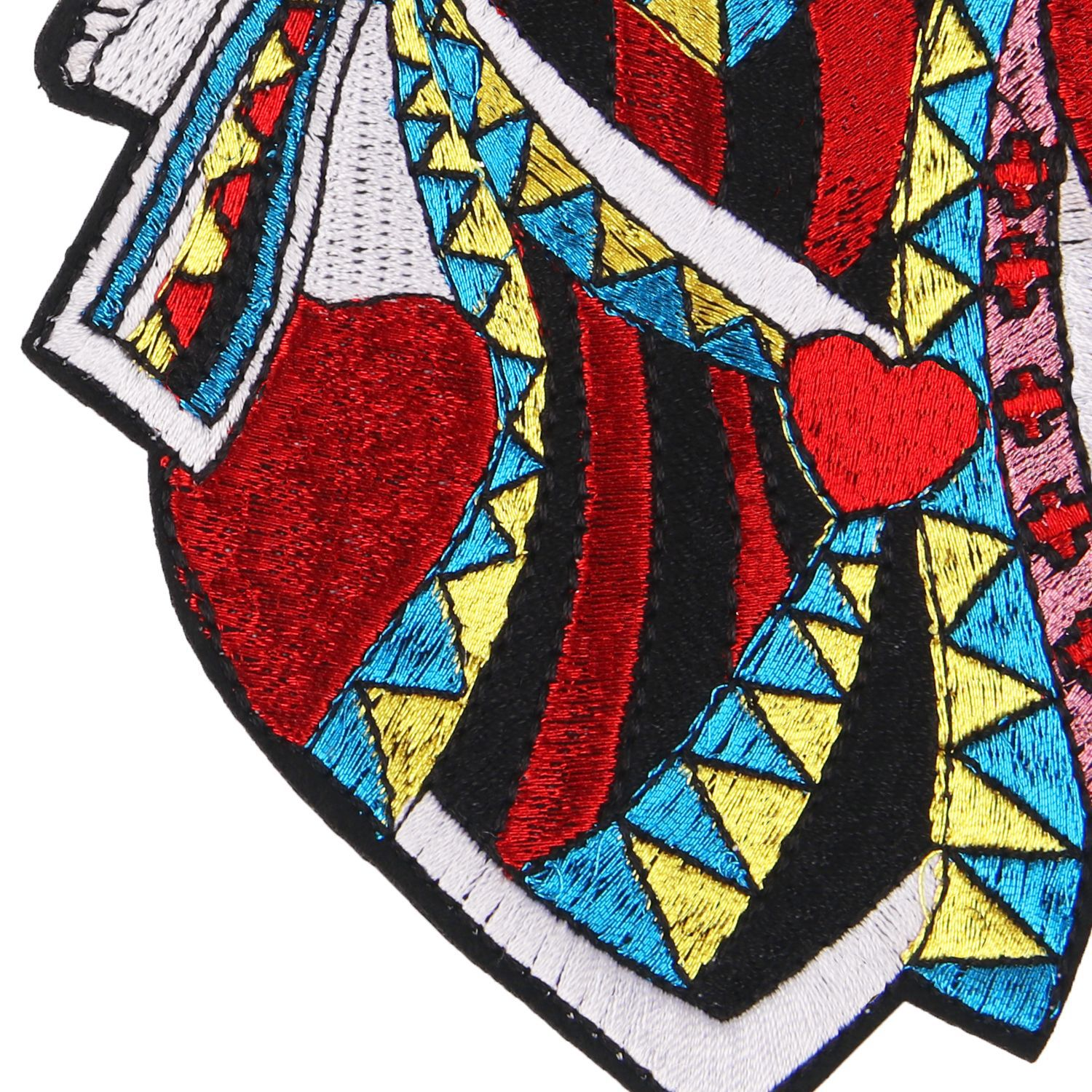 embroidery heart flowers persons patches for jackets badges for jeans cartoon applique for coats A225 in Patches from Home Garden