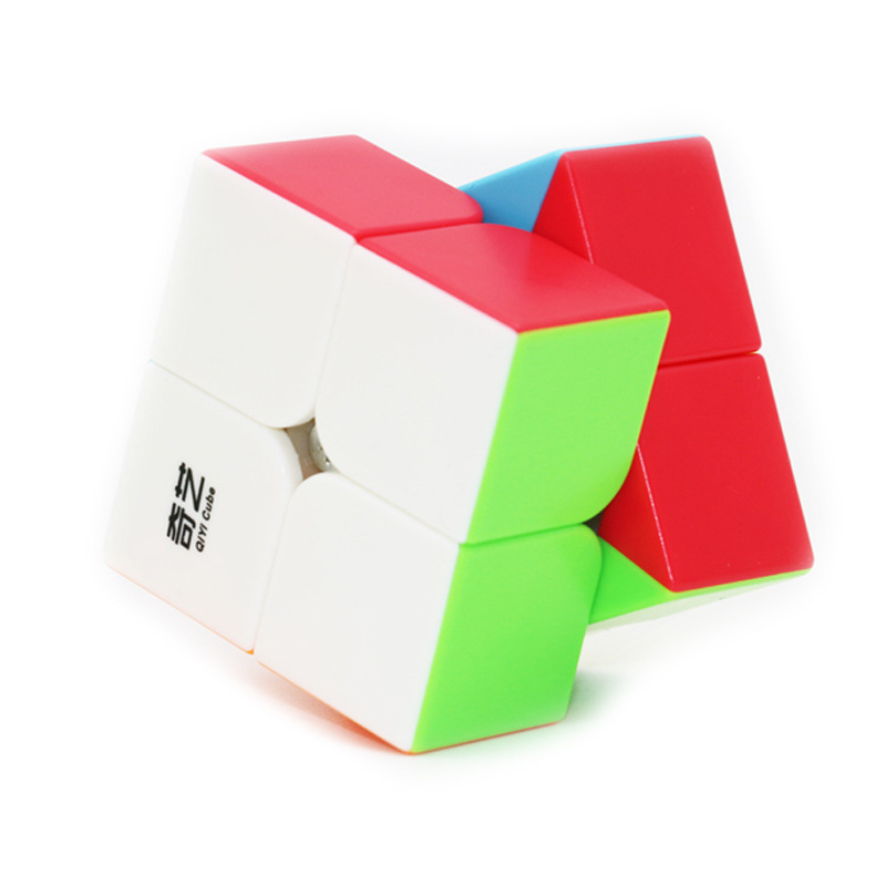 Newest QiYi Warrior 2x2x2 3x3x3 Profissional Magic Cube Competition Speed Puzzle Cubes Toys For Children Kids cube magic Qiyi