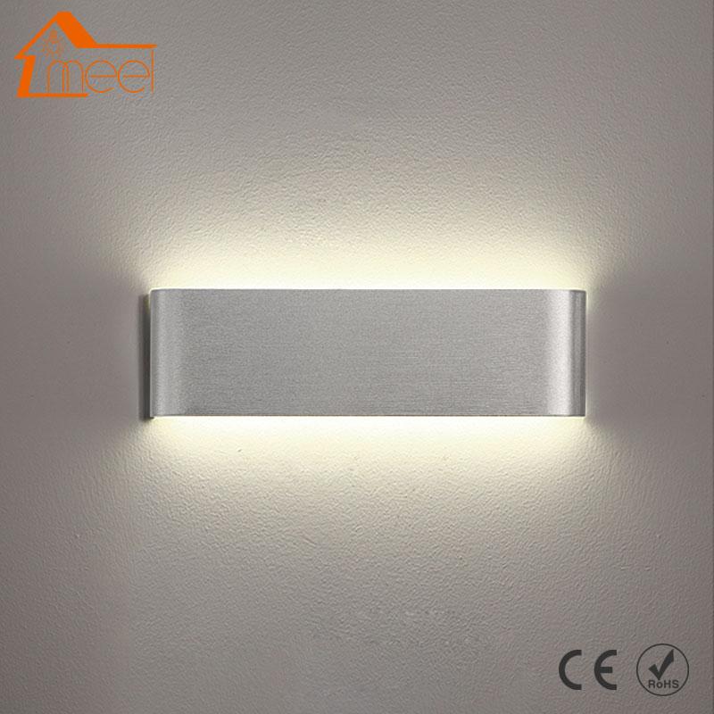 Modern Led Wall Light Aluminum Sconce Lamp 110V 220V Bathroom Mirror Light Wall Lamp Direct Creative AisleModern Led Wall Light Aluminum Sconce Lamp 110V 220V Bathroom Mirror Light Wall Lamp Direct Creative Aisle