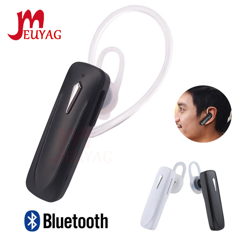 MEUYAG 2019 M163 Bluetooth Earphone Mini Wireless Headset Earbuds Handsfree Bluetooth earpiece with Mic For iphone phone(China)