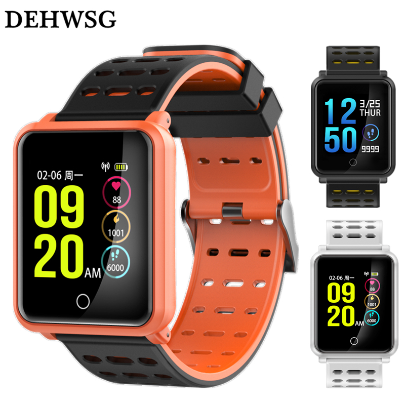 IP68 Waterproof Smart Watch H88 PK Huami Amazfit Bip Smart Watch Heart Rate Call Reminder 25