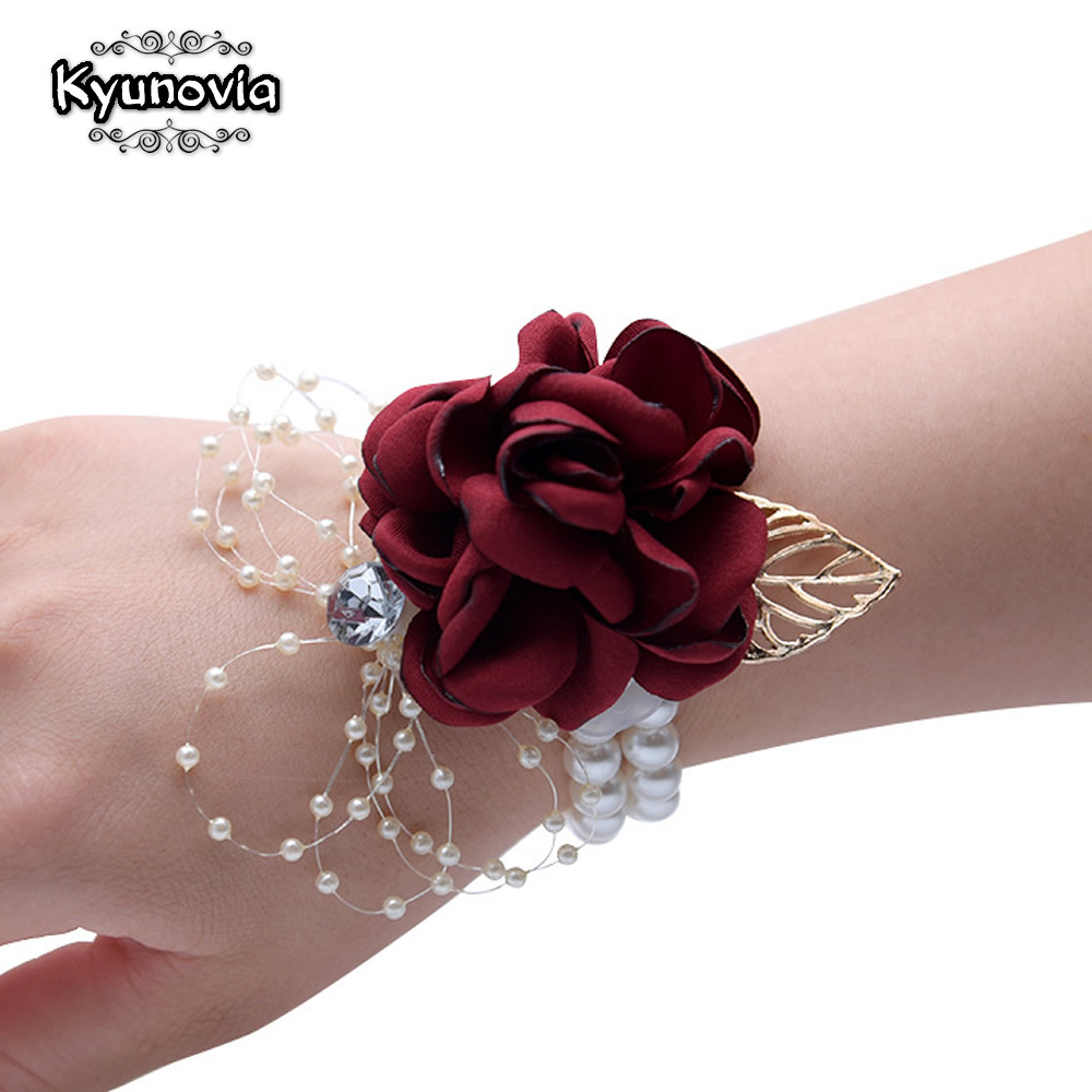 Buy Prom Flower Bracelet And Get Free Shipping On Aliexpress
