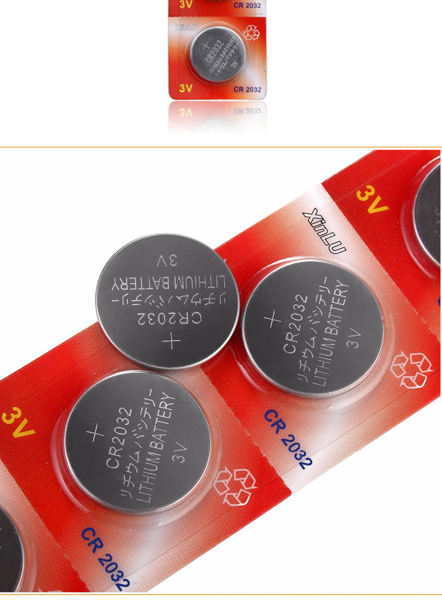Cr2032 Battery Batteries Button Cell Batteries 10 Cr 2032 Kcr2032 5004lc Ecr2032 3v Lithium Button Cell Watch Coin Battery 10pcs Lot