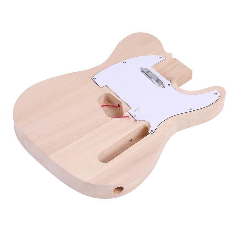 Haute qualité TL Style inachevé bricolage électrique guitare Kit érable cou - 2