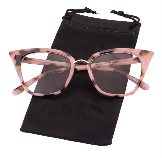 8b6360682a Cat Eye Women Mod Fashion Sexy Classic Glasses Eyeglasses Frame Clear Lens  Rx