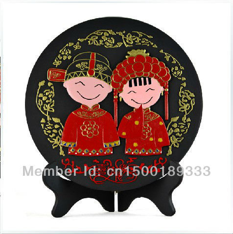 The brand of direct selling/Red knot activated carbon carving crafts home decoration furnishing articles/wedding  gift