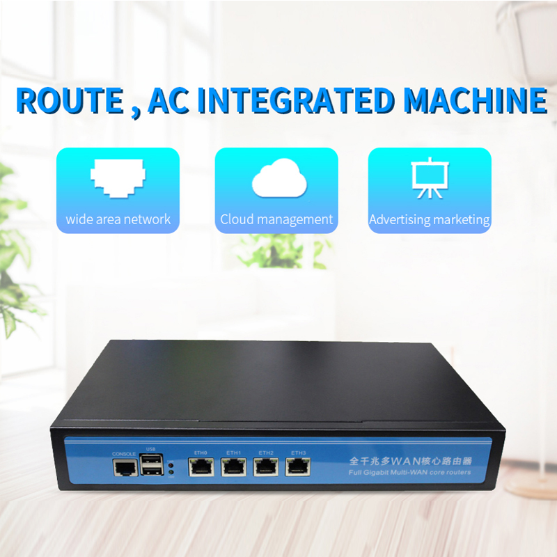 1000M LAN Rack Firewall Router network server with intel