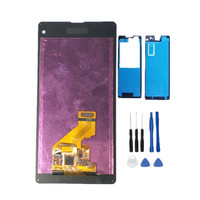 100% Tested Working LCD For Sony Z1 Mini Compact D5503 Display+Touch Screen Digitizer Assembly Replacement+ Free Tape+Tools