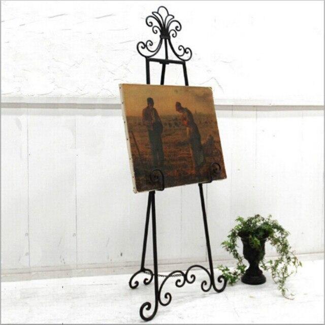 Creativo Continental hierro marco de la pintura cartel de la foto ...