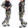 2016 марка мультфильм детская одежда набор camoflag дети шорты + футболки 2 шт. унисекс спортивный костюм набор, пригодный для 3-8year старый