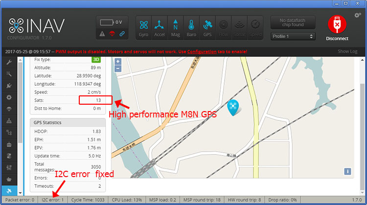 Details about JMT F3 Deluxe Full Function Flight Controller with M8N GPS  Compass Baro OSD