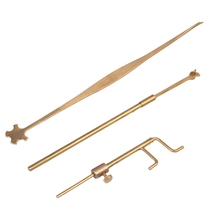 цены Violin Luthier Tools Sound Post Gauge Measurer Retriever Clip Set Violin Parts & Accessories
