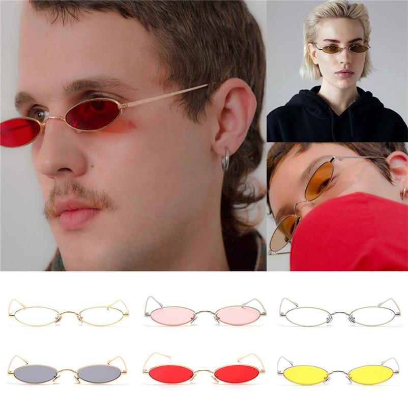 Unter Der Voraussetzung Chic Mens Womens Retro Kleine Ovale Radfahren Brillen Metallrahmen Shades #4ap12 Hohe QualitäT Und Preiswert