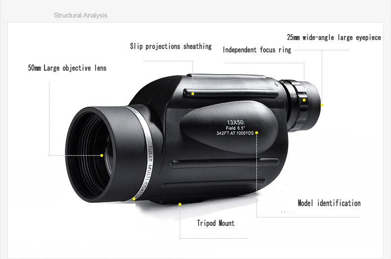 Fernglas mit absehen entfernungsmesser wasserdicht teleskop