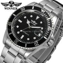 Winner Men's Watch Automatic Self-wind Leather Fashion Casual Crystal Analog Best Wrist Watch Color Black WRG8066M4T1