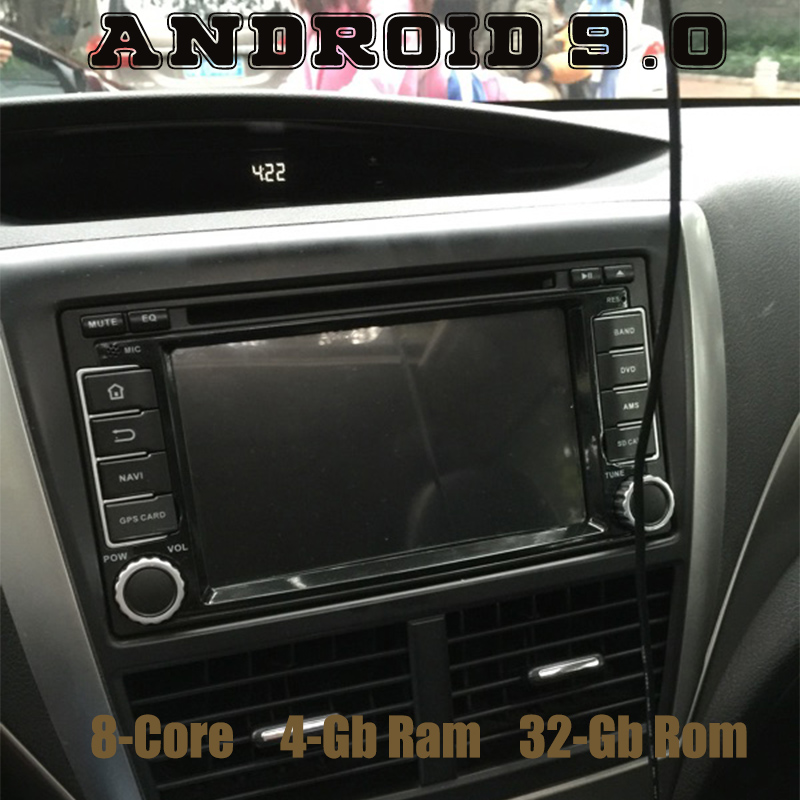 Android 9 0 Octa core Car DVD gps for subaru forester Impreza with 4g ram 64G