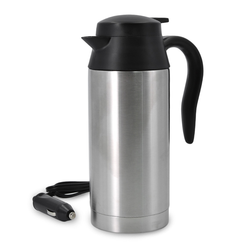 Auto Car Heating cup Stainless Steel Cup travel Kettle for Coffee Tea Heated Mug Motor Hot Water portable car cup car kit my favouite travel mug tea coffee water vacuum cup thermos bottle stainless steel water bottle mug ice cream