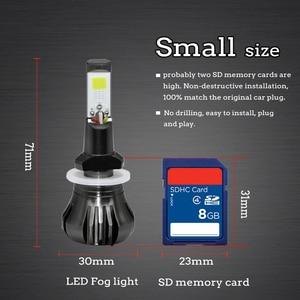Image 5 - LSlight רכב ערפל פנס הנורה H27 H3 H8 H11 H9 880 881 אוטומטי נגד ערפל אורות 12V 55W 6000K 8000K 9600lm לבן כחול ערפל קרח מנורה