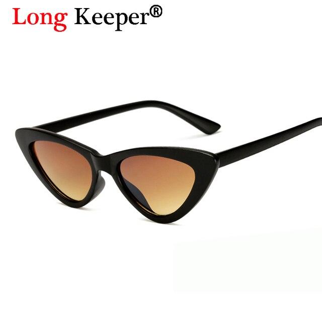 3289c1c469ef4 حارس 2018 نساء طويل ماركة مصمم القط عين شمس صغيرة السيدات مثير التسوق نظارات  الرجال نظارات